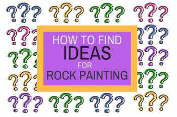 How to Find Ideas for Rock Painting