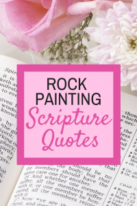 Rock Painting Scripture Quotes-2