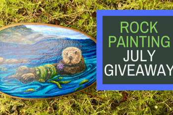 Painted Rock Sea Otter Giveaway