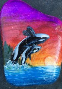 Jaclyn Schaer Rock Painting Artist