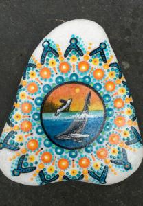 Jaclyn Schaer Rock Painting Artist Orcas
