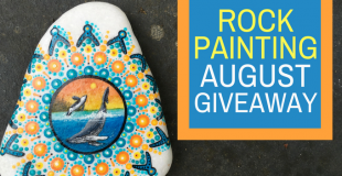 Painted Rock Orca Window Giveaway