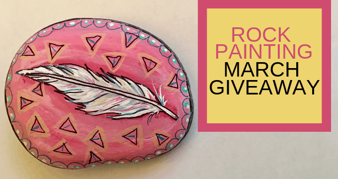 Rock Painting March Giveaway